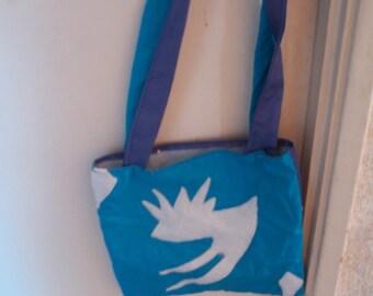 Final Fantasy Shiva inspired bag