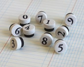 number magnets // cute office supply // decorative magnets // fridge magnet set // cute fridge magnet // refrigerator magnet // office decor