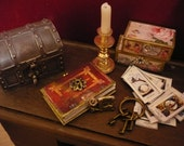 Miniature book of witches and spells
