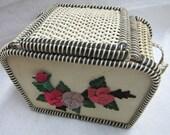 Vintage 1940s Basket Weave Purse
