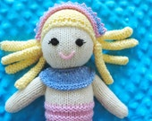 Knitted Mermaid Doll