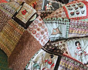 Rag Blanket for Adult Teen or Child - Domestic Divas