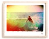 "Surf Photo Art Print ""Tick"" - Borrowed Light Series"