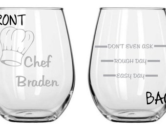 Chef Glass Personalized for FREE