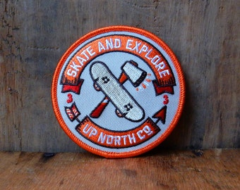 Skate and Explore Patch