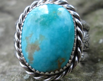 Sale 20 dollars off Turquoise and Sterling Silver  #1