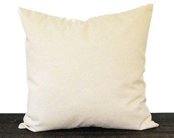 Solid natural pillow cushion cover natural minimalist decor