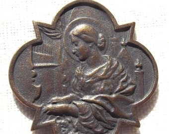 Saint Cecelia Catholic Medal St. Cecilia VP606