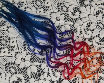 Get down with RIO BAYALAGE stick tips Ombre extensions Festivals & fairs Ombre hair extensions high lights with flair!