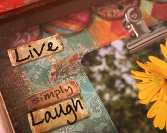 Live Love Laugh RUSTIC  8x10 Frame - Item # Fr.352