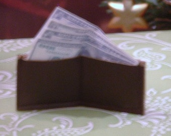 Mini Wallet with Mini Money for American Girl/Boy