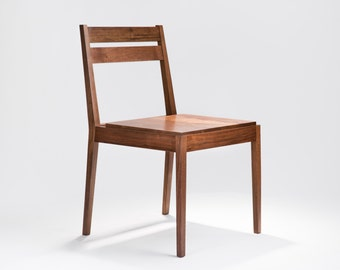 Contemporary Solid Wood Dining Chair