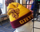 Wizard cuff beanie - Lion - Medium