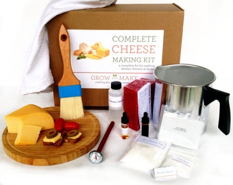 DIY Hard Cheese Kit
