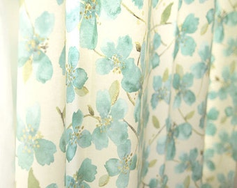 "Flower Cotton Fabric - 58"" Wide - By the Yard 72938"