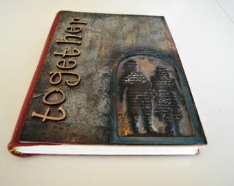Writing journal, journal diary, sketchbook, art journal, notebook, diary,  blank book