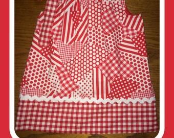 Polka Dots, Checks, and Stripes Pillowcase Dress