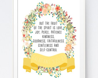 Fruit Of The Spirit Etsy