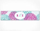 Floral Water Bottle Labels - PRINTABLE DIY Digital File - Wedding Garden Party Bridal Shower Girl Baby Shower Birthday - Floral Collection