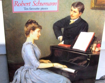 Robert Schumann, ten Piano pieces sheet music including 2 Waltzs, Dreaming and Woodland Flowers, also Sheherazade