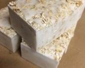 Handmade Vanilla Oatmeal Goat Milk Soap Bar
