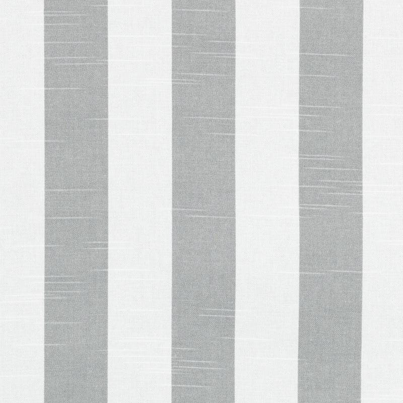 Grey Cotton Stripe Fabric Grey Stripe Upholstery Fabric Custom Grey White Stripe Curtains