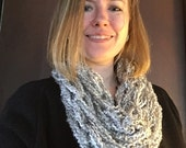 Cloud Cowl (Arm Knit Infinity Scarf 8)