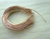 Gold Plated Metal Headbands - Lot of 20- thin 3mm wide