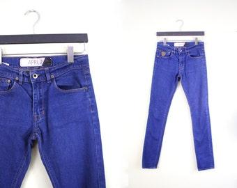 Skinny Jeans April 77 Jeans Women Skinny Jeans 27 Cigarette Jeans Size 27 Waist Jeans 27 Vintage Jeans Leggings Pants Grunge Grunge Clothing