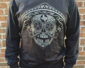 Classic Sugar Skull Logo Crew Neck Sweatshirt