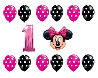 Minnie Mouse Bowtique 1st Birthday