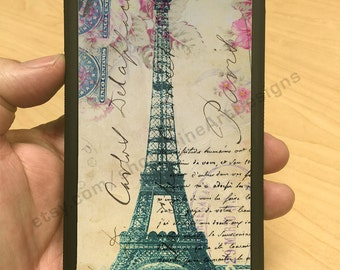 Eiffel Tower Vintage Pink Background iPhone 6/6+ iPhone 5/5s iPhone 4/4s