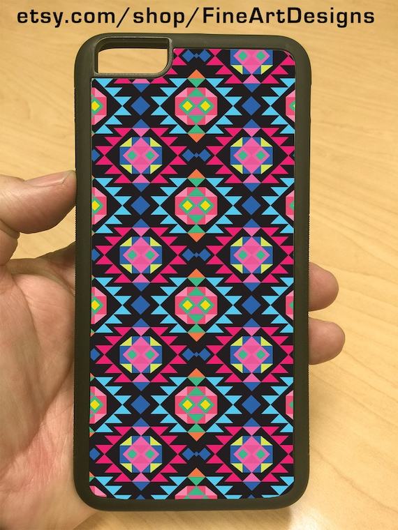 iPhone Case Purple Native American Aztec iPhone 6/6+ iPhone 5/5s iPhone 4/4s