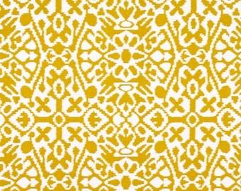 1 yard Seville -  Goldenrod Ivory Deep Yellow Macon Natural -  Premier Prints -  Home Decor