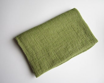 Green linen towel, soft and lightly linen towel, Linen bath sheet, Sauna linen towel, Bath linen towel, Eco friendly