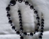 Hawaiian Black Coral Necklace.