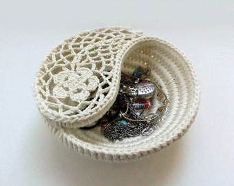 Reserved for Dawn. yin yang crochet bowls knitted on by ...