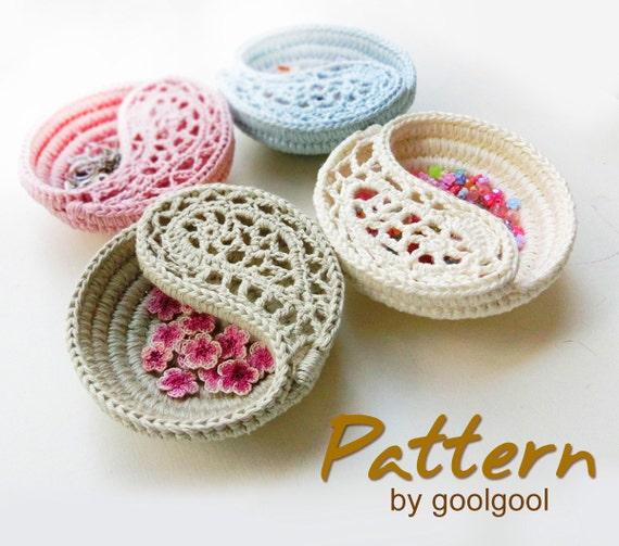Free Crochet Pattern Jewelry Box manet for