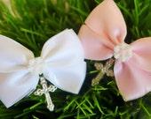 Pretty Little Daisy Greek Orthodox Baptism Martyrika/Witness Pins