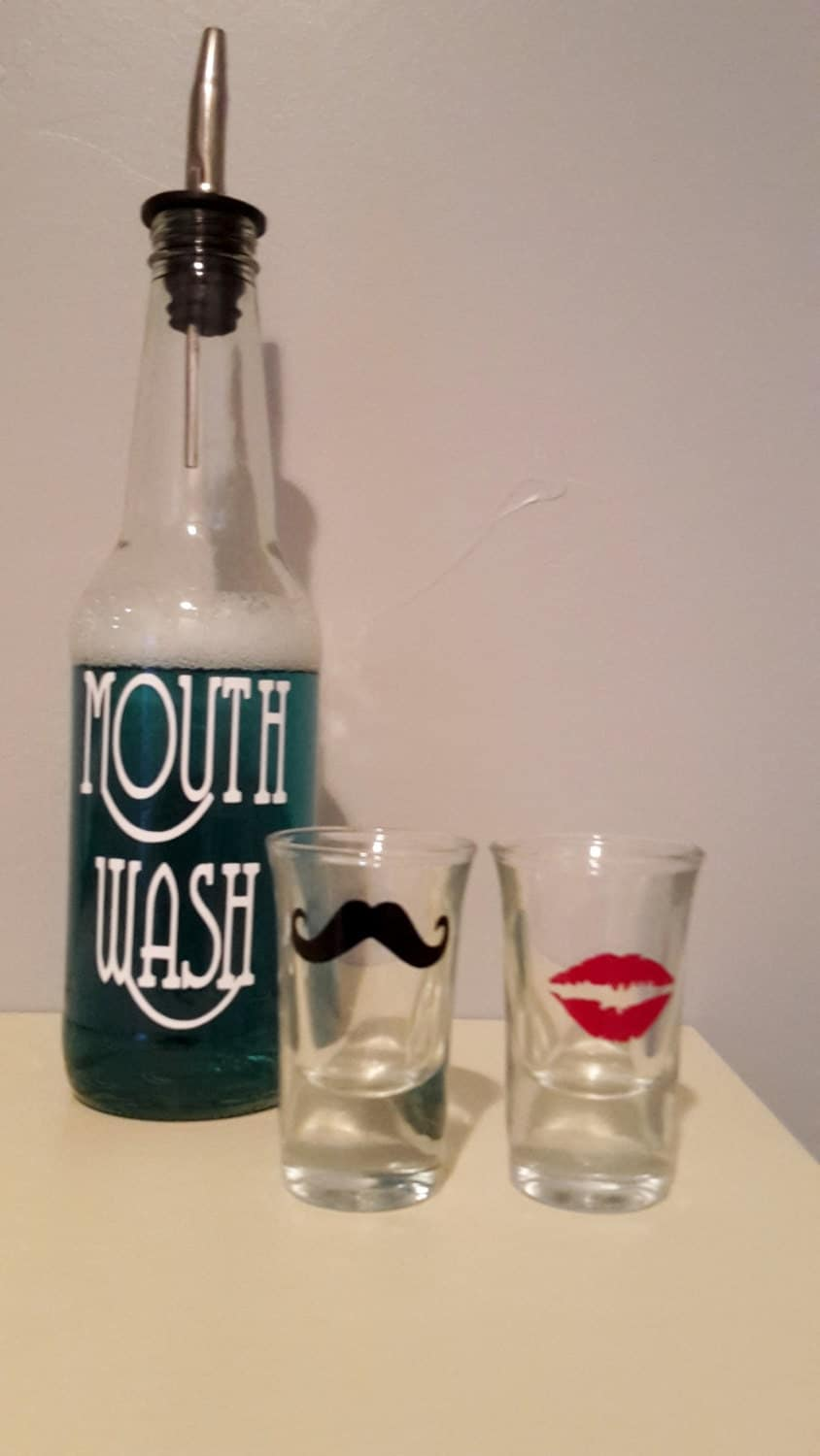 Mouth Wash Decanter 110
