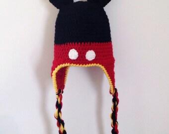 Mister Mouse Earflap Hat