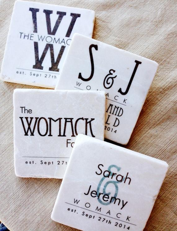 Wedding Gifts Coasters