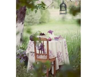Lilac Postcard, Pastel, Purple Flower, Garden, Botanical Photograph, Dreamy Fine Art Print, Spring, Nature Photography