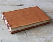 Cherry Chevron Wood Album