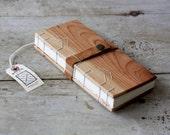 Cherry Field Journal / Chevron Stitch