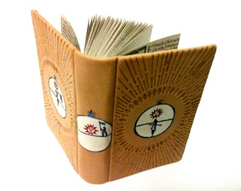 The Alchemical Book, Grimoire, Miniature book, leather