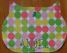 Personalized Cat Placemat  - Monogrammed