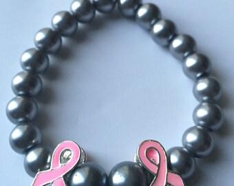 Double Ribbon Stretch Bracelet