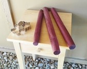 """Purple Heart french rolling pin, made to order, 16""""-22"""" long"""