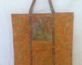 Fold-Away Market Tote, Shopping Bag, Travel tote, Pocket Market Bag